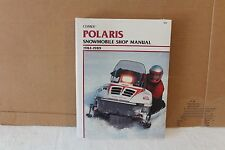 New In Plastic! Unopened CLYMER Polaris Snowmobile Shop Manual 1984-1989