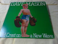 """Dave Mason – """"Old Crest On A New Wave"""" - 1980 Classic Rock vinyl LP - VG+/VG+"""