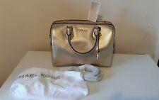 Michael Kors Mercer Medium Pale Gold  Leather Duffel bag ..bnwt