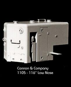 "Cannon & Company HO LN-1105 116"" EMD Low Short Hood  MODELRRSUPPLY   $5 Coupon"