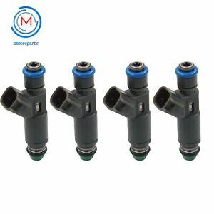 Set of 4 Fuel Injectors 12582704 For Chevrolet Ponti Saturn 2.4L 2.2L