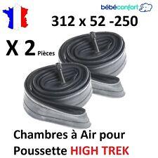 2X Chambres à air 312x52-250 pour poussette HIGH TREK Bébé confort 312 x 52 -250