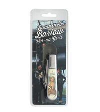 Bombshell Barlow pocket knife WW2 pin up girl Art Novelty knife Co Free Shipping