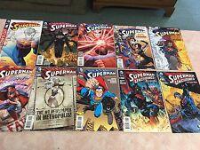 LOT OF TEN DIFFERENT DC COMICS THE NEW 52 SUPERMAN COMIC BOOKS
