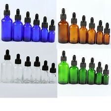 5ML--100ML Glass Reagent Liquid Pipette Bottle Eye Dropper Aromatherapy Hot