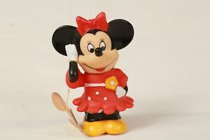 Minnie Mouse WITH TAG Coin Bank Walt Disney Productions Head & Hand Moves VTG