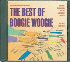 The Best Of Boogie Woogie - Albert Ammons/Ux Lewis/Jelly Roll Morton Cd Mint