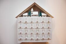Christmas Wooden Advent Calendar Light up House -  : RRP: £49.95*  Now £22.95
