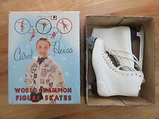 Vintage CAROL HEISS World Champion (Size 7) Figure Skates in Box SKATING OLYMPIC