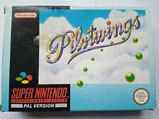 PILOTWINGS ORIGINAL UK SNES GAME BOXED AND TESTED
