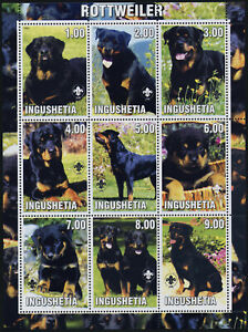 Ingushetia m/s MNH Dogs, Rottweiler, Scouts