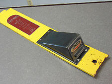 Skee Ball Ticket Unit Alley Cover Used. Has Ticket Dispenser Lid and Decal