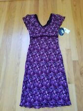 NWT My Michelle Short Sleeve Floral Dress Juniors  M Multi