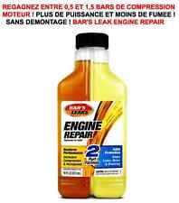 SPECIAL MOTO REGAGNEZ DE LA COMPRESSION ! BAR'S LEAK ENGINE REPAIR DOUBLE FLUIDE