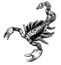Alchemy Gothic Stud Earring Serket Scorpion Goth Emo Style Pewter Jewellery BNWT
