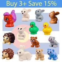 *NEW* Lego Cute Critters Hamster Gerbil Hedgehog Bunny Rabbit Pet City Friends
