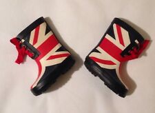 Baby Boys Size 4 (20) NEXT Stylish England Flag Wellies Boots