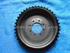 TRIUMPH T120, REAR BRAKE DRUM SPROCKET. 43T. BOLT ON. MADE IN ENGLAND. 37-1276