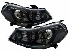SX4 MK1 2007-2013 4D/5D Projector Headlight Black EU V2 for SUZUKI LHD