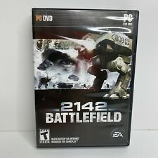2142 Battlefield PC DVD-ROM Game 2006 Complete Manual Key Shooter EA