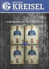 Schalker Kreisel + 18.02.2015 + FC Schalke 04 vs. Real Madrid CF + CL + Programm