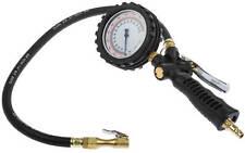 Druckluft Reifenfüller geeicht Reifenfüllpistole Manometer Auto Reifen 12 bar