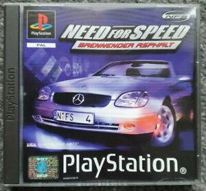 Need For Speed IV - Brennender Asphalt (Sony PlayStation 1, 1999)