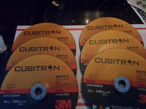 6-3M™ Cubitron™ II Depressed Center Grinding Wheel 9'' ,64316-q