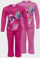 MY LITTLE PONY Girls Nightwear Cotton Long Sleeves Pyjama Set Age 2 3 4 5 6 Year