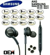 LOT New For OEM Samsung S10 S9 S8+ Note 8 AKG Headphones Earbud Galaxy Earphone