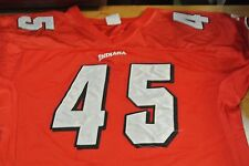 Indiana University Game Used Football Jersey Size L #45