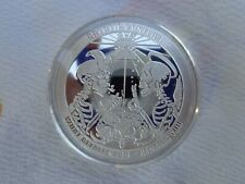 1 oz. CRYPTIC CONFLICT #3 Cryptic Series art rounds .999 fine silver