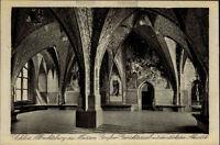 Meissen Meißen Sachsen ~1910/20 Albrechtsburg Burg Gerichtssaal Gericht Inneres