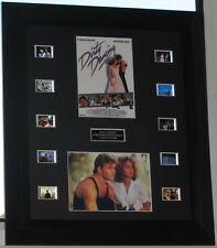 """""""DIRTY DANCING""""  FRAMED FILM CELL MOUNTED CELLS PATRICK SWAYZE"""