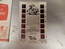 1952 Tru Vue film card c-3 wild west rodeo vintage view master