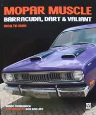 LIVRE/BOOK : MOPAR Muscle - Barracuda, Dart & Valiant 1960-1980
