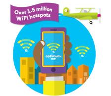 Optimum WiFi ( Hotspot ) 1 Year Access Pass. 1 Device [ Trusted Seller ]
