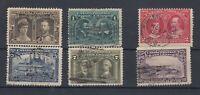 Canada 1933 Postage Due Set To 10c Tercentenary SG188/193 JK1251