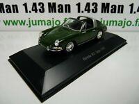 POR8W : voiture 1/43 atlas NOREV PORSCHE 911 : PORSCHE 911 Targa-1965