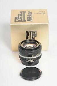 Nikon Nikkor AI 50mm f1.4 Lens 50/1.4 #015