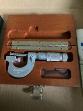 Brown Amp Sharpe Mul T Anvil Micrometer Model 176