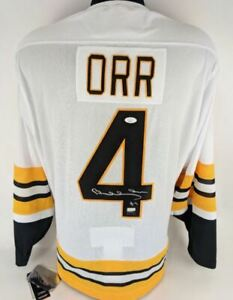 Bobby Orr Signed Adidas Heroes of Hockey 1975-76 Vintage On-Ice Jersey JSA &GNR