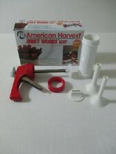 Nesco American Harvest Jerky Works Maker Gun Press Form Bjw-1 Sticks Or Strips