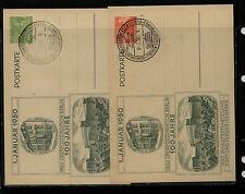 Germany  , Berlin  2 postal  cards  special cancel  1950        KEL1205