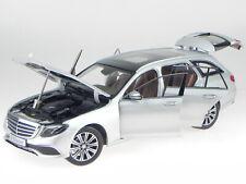 Mercedes S213 E-Klasse T-Modell Exclusive silber Modellauto iScale 1:18