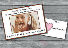 Personalised Mothers Nanny Day Card Your Photo Cute Funny