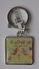 dd Love who you are KEYCHAIN key chain ring GAnz self love body pos
