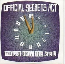 (630C) Official Secrets Act, The Girl From the B- DJ CD