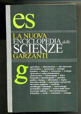 LA NUOVA ENCICLOPEDIA DELLE SCIENZE GARZANTI # Nuovo *M
