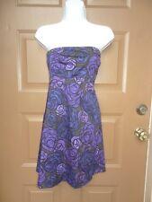 NWT NEW THEORY Conie Dress TANZANITE Multi Color Print SZ O XSMALL XS $295